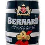Piwo Bernard světlý ležák 5l beczka