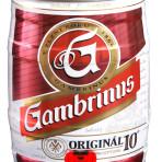 Piwo Gambrinus 5l beczka