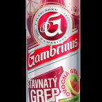 Piwo Gambrinus Grejpfrut puszka