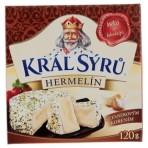 Král sýrů Hermelín z czosnkiem 120g