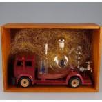 Auto s destilačním přístrojem a teploměrem