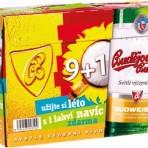Piwo Budvar 9+1 Gratis – Multipack