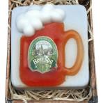Ręcznie robione piwne mydło Beer Spa