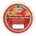 Olomoucké tvarůžky kousky s červenou paprikou 125g