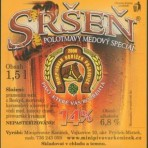 Piwo Sršen 14°  półciemne miodowe 1,5l