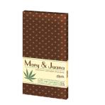 Gorzka czekolada Mary&Juana z nasionami konopi
