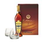 Metaxa 7* opakowanie podarunkowe + 2 szklanki
