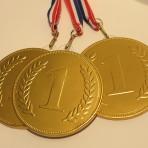 Medal złoty czekoladowy