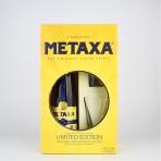 Metaxa 5* opakowanie podarunkowe+szklanki
