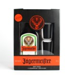 Jagermeister 1L 35% box+kieliszki