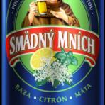 Piwo Smädný Mních Cytryna,mięta,czarny bez puszka