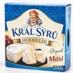 Král sýrů Hermelín maxi 1x200g