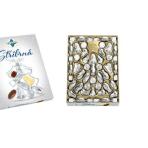 ORION – Ozdoby czekoladowe na choinkę SREBRNE – mleczna cz. 500g