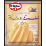 Budyń Premium puding Gruszka i Lawenda Dr.Oetker