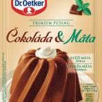 Budyń Premium puding Czekolada i Mięta Dr.Oetker