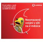 Starter SIM : Vodafone Czechy + 101 Kč na Start