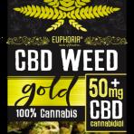 Kwiaty CBD Weed 50 mg Gold