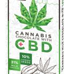 CZekolada Cannabis z CBD 12mg MLECZNA