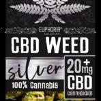 Kwiaty CBD Weed 20 mg Silver