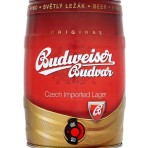 Piwo Budweiser světlý ležák 5l plech