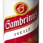 Piwo Gambrinus světlý 10° puszka 0,33l