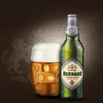 Piwo Bernard Kvasnicový ležák 11 světlý