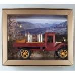 Dřevěné auto s cisternou + štamprle
