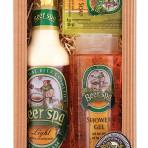 Opakowanie podarunkowe Beer Spa – żel + olejek + mydło