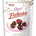 Maliny w gorzkiej czekoladzie 500g