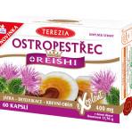 Ostropest plamisty + REISHI 60 kaps.
