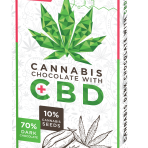 CZekolada Cannabis z CBD 18mg GORZKA