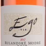 EGO No. 8169 Rulandské modré rosé 2017 0,75l