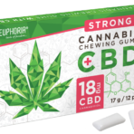 Guma do żucia z 18mg CBD